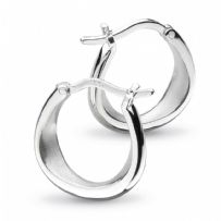 Coast Shore Small Sandblast Hoop Earrings